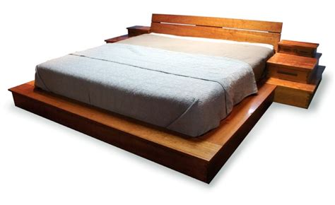 Handmade Bed Frame Plans - platform bed woodworking plans glider wood