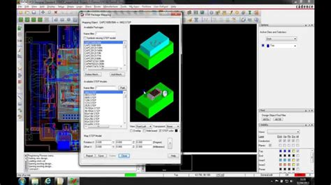 tutorial video mapping 3d orcad allegro tutorial step mapping 3d models 4291 on go