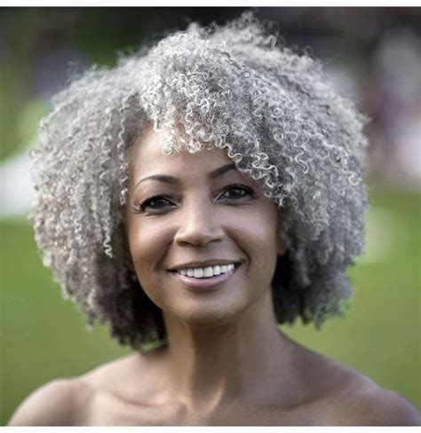 gray afro hairstyle 190 best textured grays images on pinterest going gray