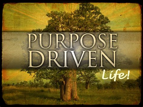the purpose driven life living with purpose part 2 church on the rock quitman