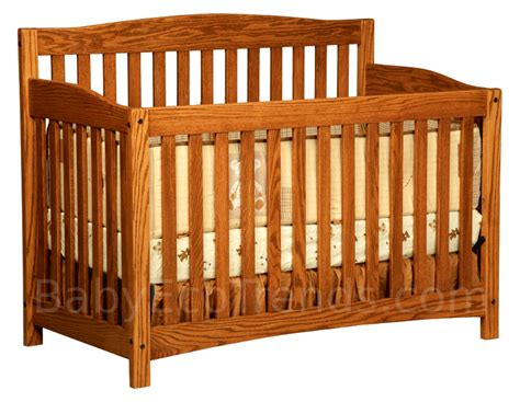 Amish Baby Cribs by Monterey 4 In 1 Convertible Baby Crib Made In Usa Baby