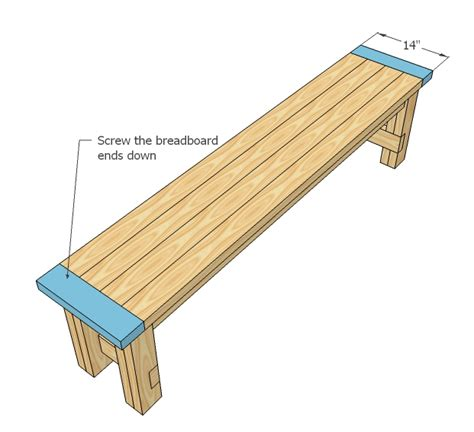2x4 bench seat plans easy to build farmhouse bench free and easy diy project