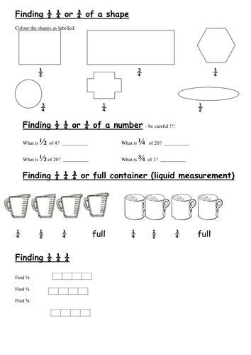 Half Problems Worksheet by Half Quarter Three Quarters Worksheets By Nicolamiddleton