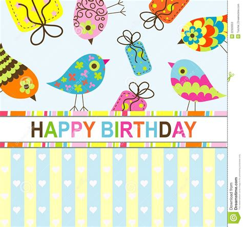 birthday card template insert photo birthday card template