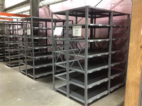 used steel shelving for sale by american surplus inc