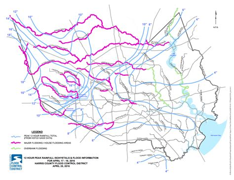 houston flood map 2016 houston flooding put into a historical context