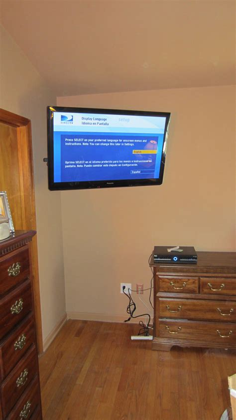 tv mounted on wall in bedroom fairfield ct panasonic tv mounted on wall in bedroom