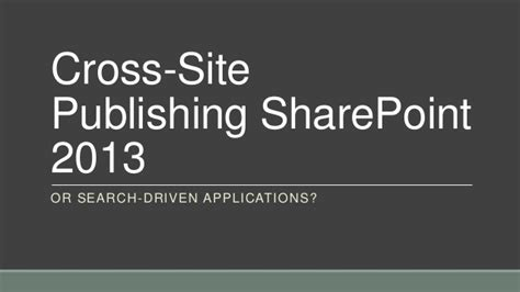 sharepoint tips and tricks the publishing feature redmondmag com