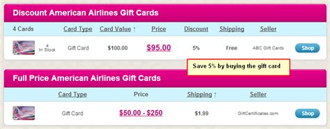 American Airline Gift Cards - booking a flight things to consider creditwalk ca