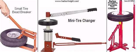 harbor freight bead breaker mini tire changer ftempo