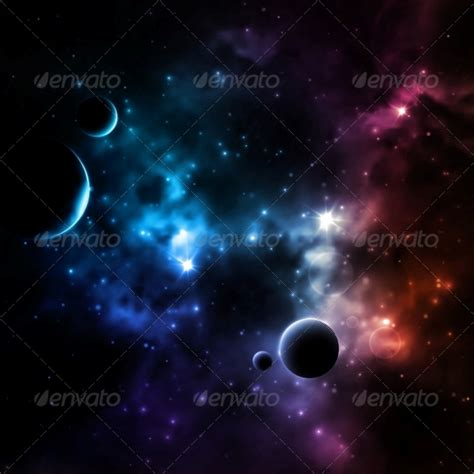galaxy backgrounds  vector eps jpeg png format