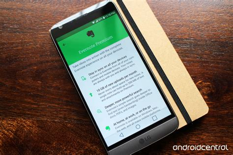 evernote android evernote hikes up prices limits free users to two devices android central