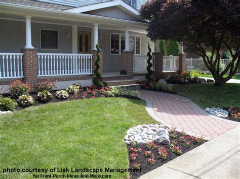 pics for gt landscaping ideas around front porch