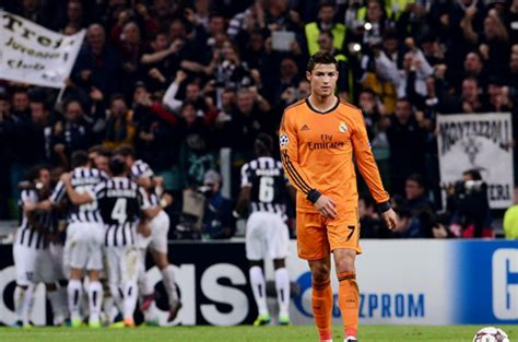 ronaldo 7 juventus barcelona juventus 2 2 real madrid ronaldo and bale leave their in turin