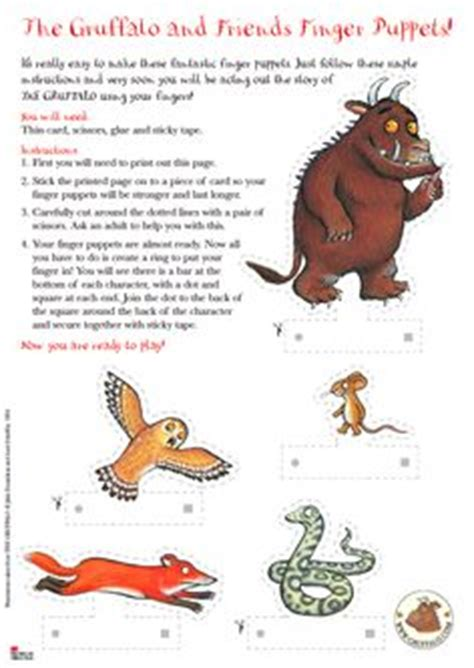 libro the gruffalo and friends twinkl resources gt gt the gruffalo full page borders gt gt thousands of printable primary teaching