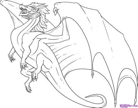 simple dragon coloring page how to draw a flying dragon step by step dragons draw a