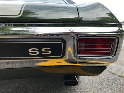 1970 chevelle ss sport 396 l78 4 speed 12 bolt