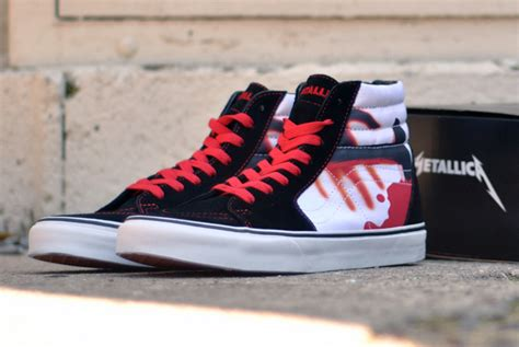 Vans Metalica Premium vans x metallica pack disponible sneakers fr