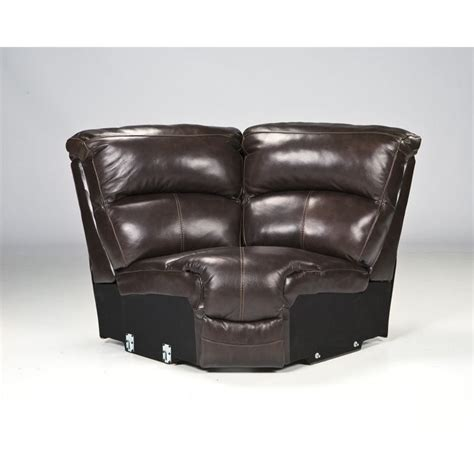 ashley furniture brown leather sectional ashley furniture damacio 5 piece leather reclining
