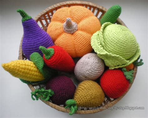 amigurumi vegetables pattern crochet vegetables