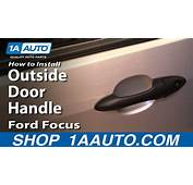 2010 Ford Fusion Interior Door Handle Replacement