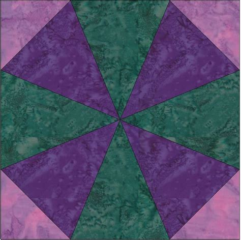 Kaleidoscope Quilt Patterns by Kaleidoscope Paper Foundation Block By Humburgcreation