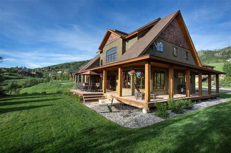 barn style house plans with wrap around porch best 25 barn style house plans ideas on pinterest