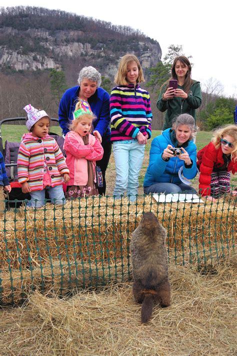 groundhog day celebration chimney rock to host 13th annual groundhog day celebration