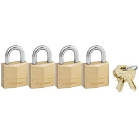 Solid Luggage Padlock Series R 7819 Colour master lock padlock solid brass lock 3 4 in wide 120q import it all