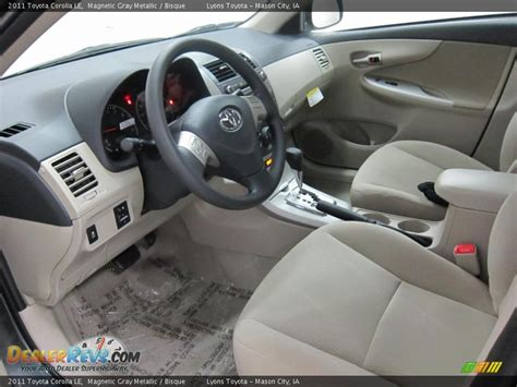 bisque interior 2011 toyota corolla le photo 15