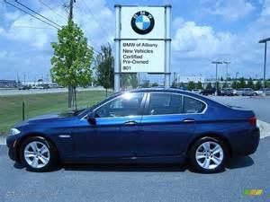 2012 sea blue metallic bmw 5 series 528i sedan
