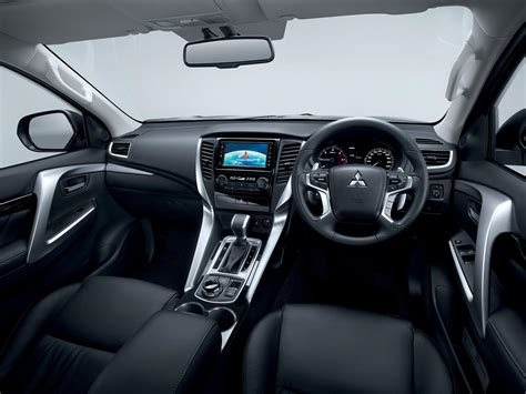 mitsubishi eclipse 2016 interior 2016 mitsubishi pajero sport officially unveiled