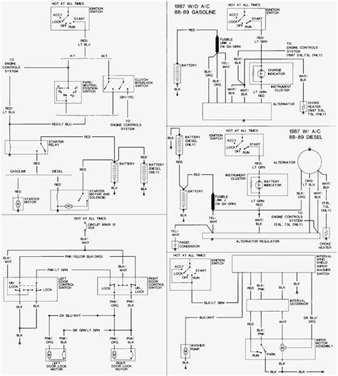 1987 ford bronco wiring diagram wiring diagram with