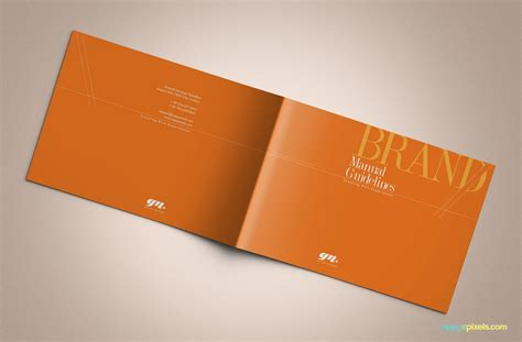brand book template professional brand guidelines brandbook template