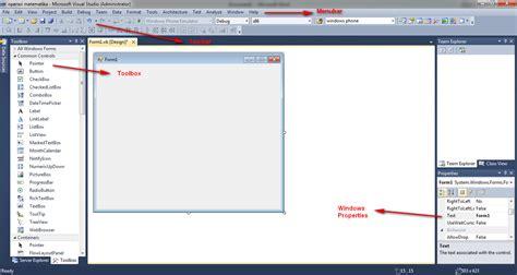 design form vb 2010 pengenalan dasar visual basic 2010 ilmu konik saputra