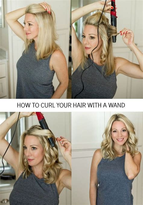 ideas to to your hair with a wand 25 best ideas about curling wand tips on pinterest best