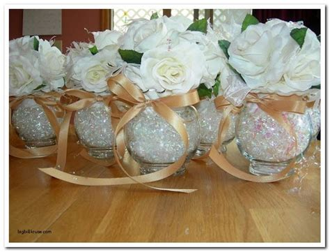 Best Th Wedding Anniversary Decorations With Silver Table Centerpiece Ideas Pinterest