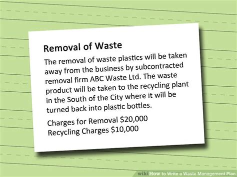 waste management strategy template waste management strategy template outletsonline info