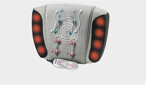 cuscini massaggianti i cuscini massaggianti imetec un ottima idea regalo per