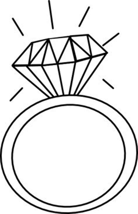 wedding ring template engagement cliparts