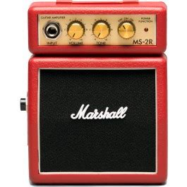 Mini Portable Guitar Lifier Marshall Ms2 Original marshall ms2 micro in black guitar co uk