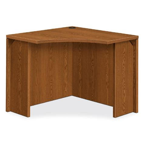 Hon Corner Desk Hon Curved Corner Desk 36 Quot W 105810 Executive Desks Worthington Direct