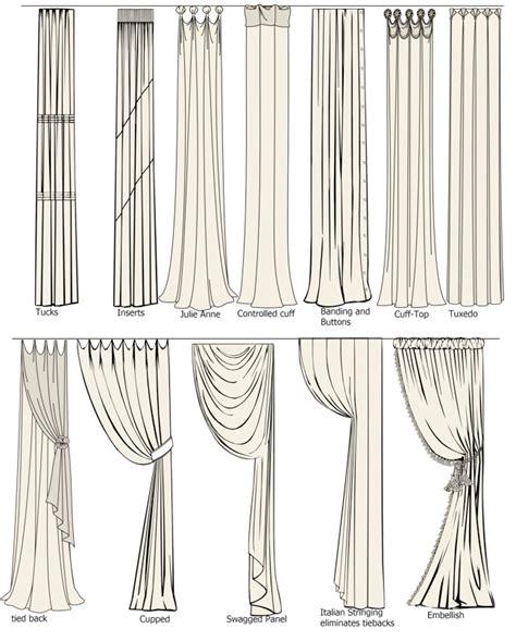curtain draping ideas guida tende modelli di tende