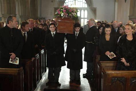 josh ryan evans death story funeral scenes for eastenders battleaxe pat evans mirror