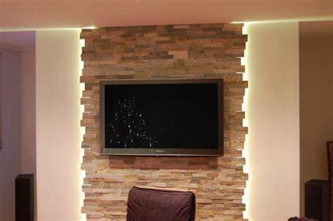 Wohnzimmer Steinwand by Wohnzimmer Steinwand Tv 3 Jpg 640 215 425 Parement