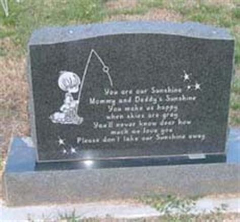baby headstones sle grave marker quotes quotesgram