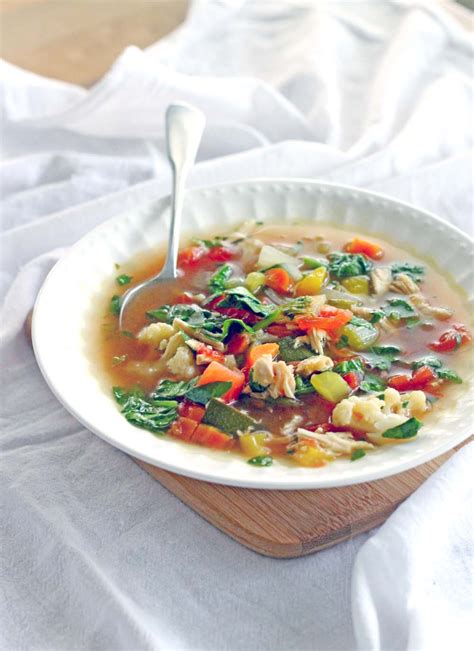 Healthy Detox Vegetable Soup by Detox Chicken And Vegetable Soup