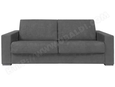 canapé convertible ubaldi canap 233 lit alterego divani pluslit 3 places gris pas cher