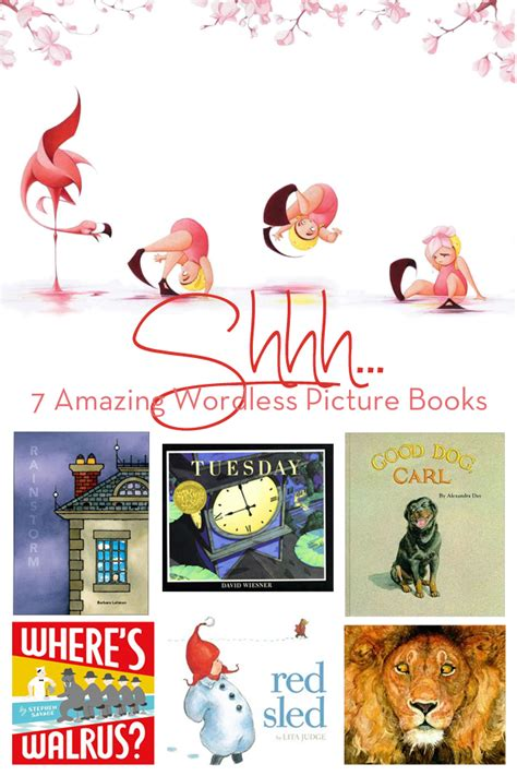picture book stories shhh 7 amazing wordless picture books modern parents