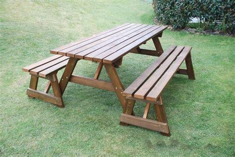 come costruire un tavolo in legno per esterno tavoli in legno da giardino tavoli da giardino